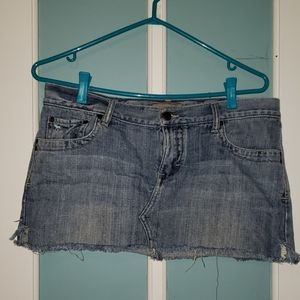 Fun, flirty Jean Skirt